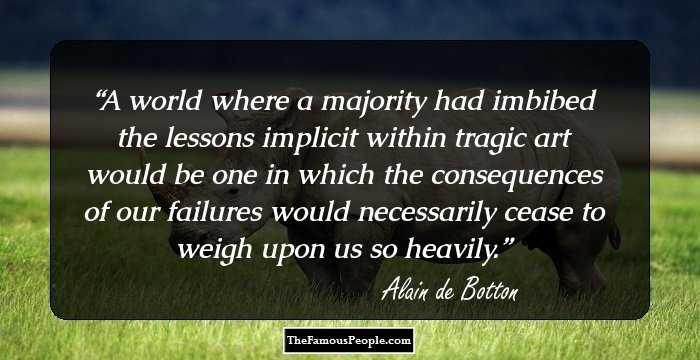 Alain de botton essays in love quotes
