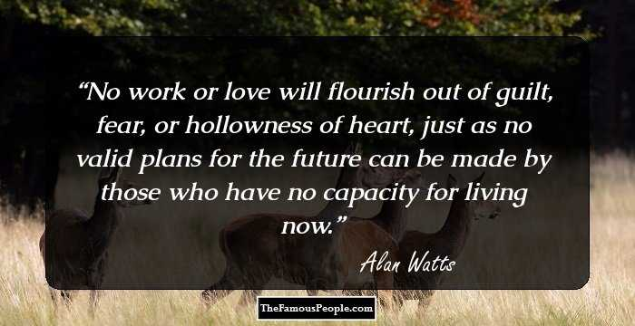 Alan watts love