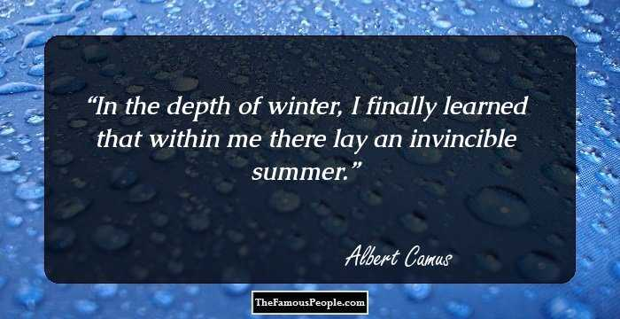 The stranger by albert camus characterization