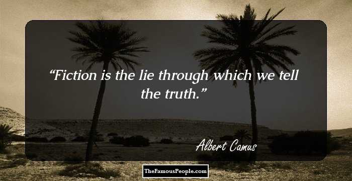 an analysis of the truth in the stranger by albert camus Albert camus (1913 – 1960) was a french author, philosopher, and journalist who was awarded the nobel prize for literature in 1957his most famous works were the novels la peste () and.