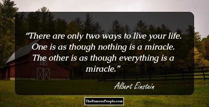 Beautiful Miracles Quotes That May Help You Work Miracles