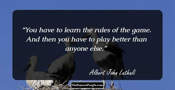 8 Best Albert John Lutuli Quotes