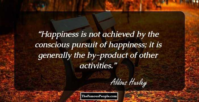 the life and times of aldous huxley Aldous huxley was a writer and intellectual who lived a complex life in  by the  bloomsbury group and aldous huxley spent a lot of time there,.