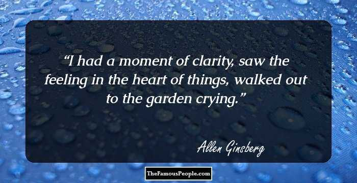 100 Top Quotes By Allen Ginsberg The Author Of Howl And Other Poems