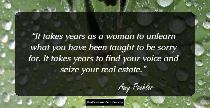99 Great Quotes By Amy Poehler That Will Bring The House Down