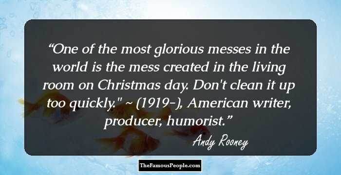 33 Top Andy Rooney Quotes That Speak His Mind