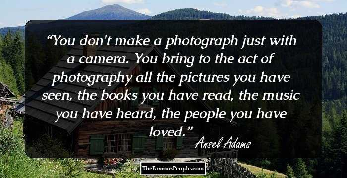 The Photographic Legacy of Ansel Adams