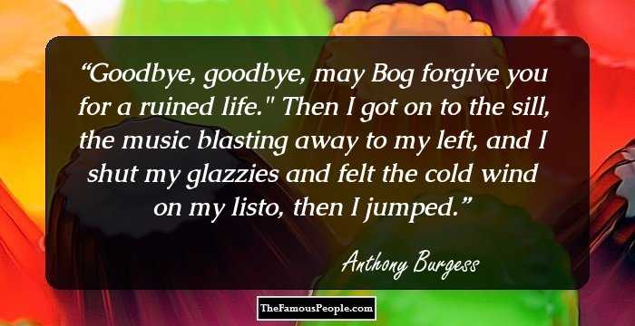 a biography of the author anthony burgess Anthony burgess books and biography bookyards is the world's biggest online library where you can find a large selection of free ebooks download or publish your books with the world for free.