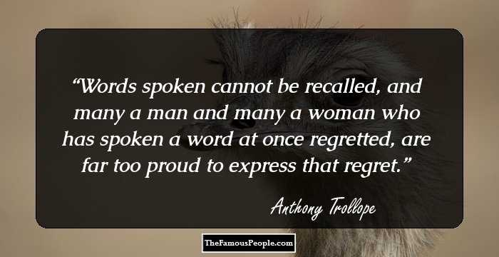 100 Top Selected Anthony Trollope Quotes