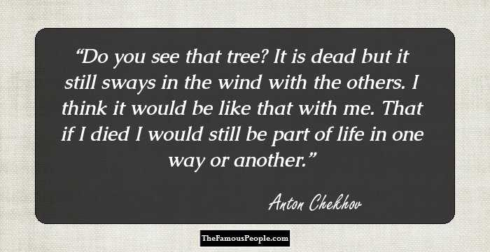 100 Awesome Quotes by Anton Chekov, The Author of Ivanov