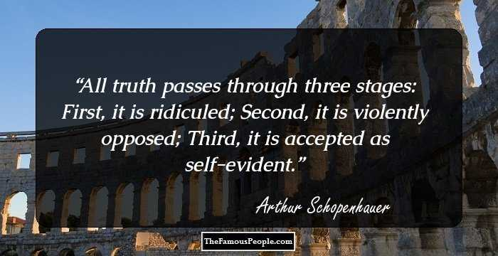 schopenhauer essays on women Discover arthur schopenhauer quotes about pessimism share with friends create amazing picture quotes from arthur schopenhauer quotations.
