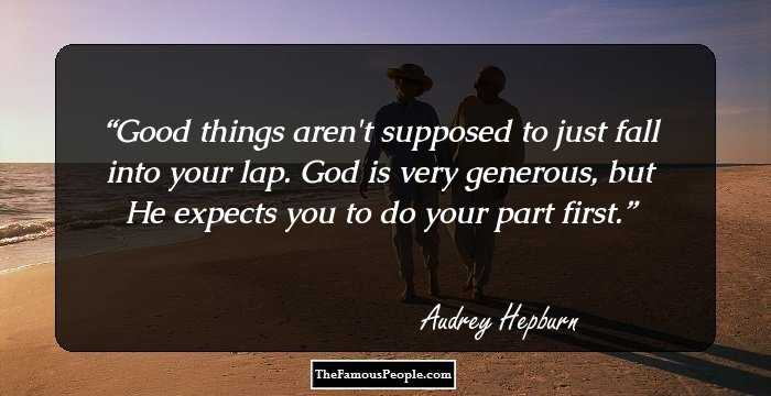 96 Inspiring Quotes By Audrey Hepburn The Fashion Diva Of