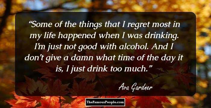 25 Ava Gardner Quotes To Ponder Over