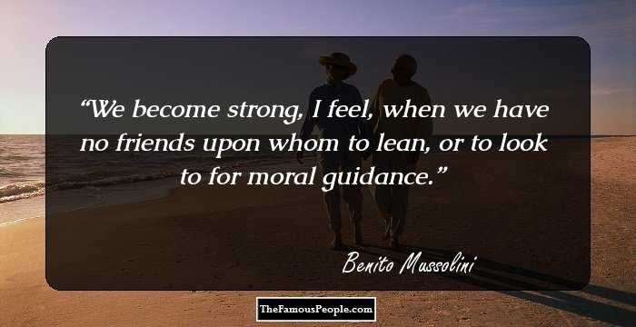 Mussolini Quotes 71 Famous Benito Mussolini Quotes That Give A Glimpse Of His Mind