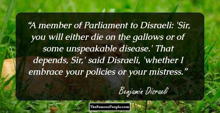 Disraeli Quotes