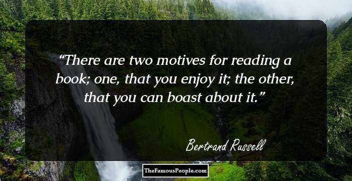 Bertrand russell essay work