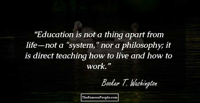 47 Great Quotes By Booker T Washington That Will Mould Your Personality