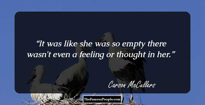 the different kinds of loneliness in carson mccullers the heart is a lonely hunter Carson mccullers (1917-1967) was the author of numerous works of fiction and nonfiction, including the heart is a lonely hunter, the member of the wedding, reflections in a golden eye, and clock without hands.