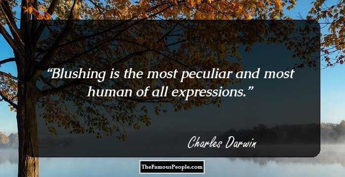 98 Famous Quotes By Charles Darwin, The Author Of On The
