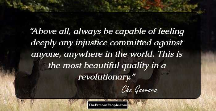 68 Motivational Che Guevara Quotes For The Revolutionary in You