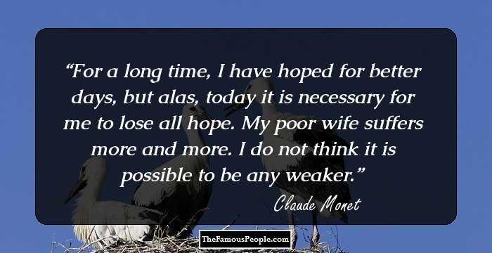 43 Brilliant Quotes By Claude Monet