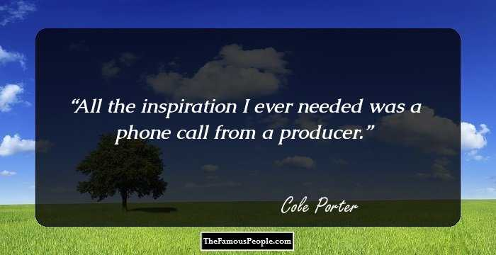 Phone Call Quotes Delectable 26 Great Quotescole Porter For Your Perfect Romantic Evening