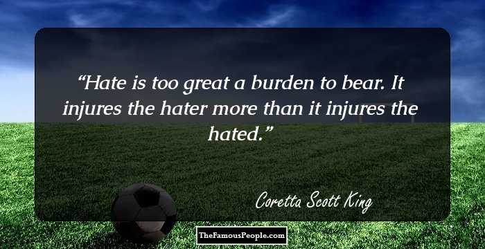 60 Great Quotes By Coretta Scott King Unique Coretta Scott King Quotes