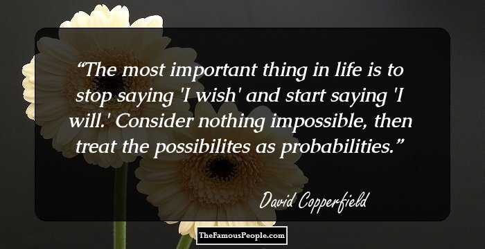 david copperfield biography childhood life achievements timeline major works
