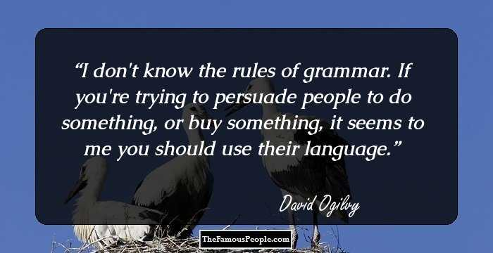 David Ogilvy Quotes Classy 26 Inspiring David Ogilvy Quotes That Give You Business And