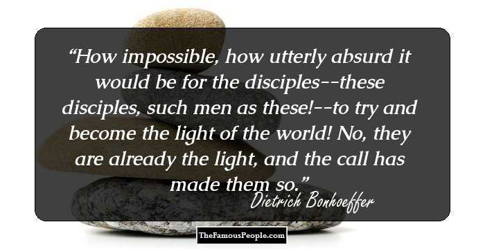 100 Timeless Dietrich Bonhoeffer Quotes