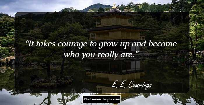 100 Famous Quotes By Ee Cummings The Author Of 100 Selected Poems