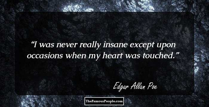Edgar Allan Poe Life Quotes Beauteous 100 Inspirational Quotesedgar Allen Poe That Will Help You See
