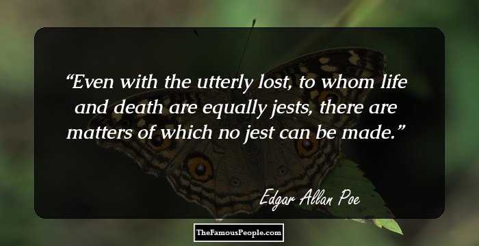 the strange life of edgar allan poe just like his writings With his lost lover, just like poe wishes to  of edgar allan poe's life on his morbid writings  edgar allan poe's writing essay edgar allan poe.