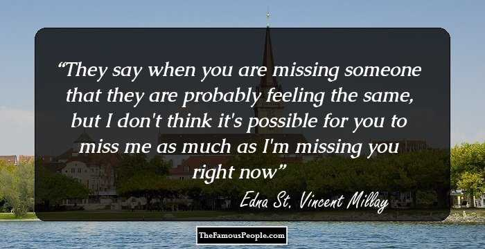 Edna st vincent millays lifestyle in her poem renascence