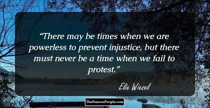 Night By Elie Wiesel Quotes Prepossessing 100 Inspirational Quoteselie Wiesel The Holocaust Survivor