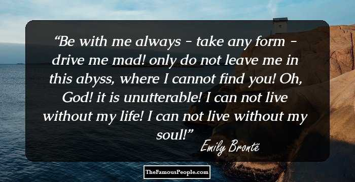 a biography of emily jane bront Born in thornton, yorkshire, england, on july 30, 1818, emily jane brontë lived  a quiet life in yorkshire with her clergyman father brother,.