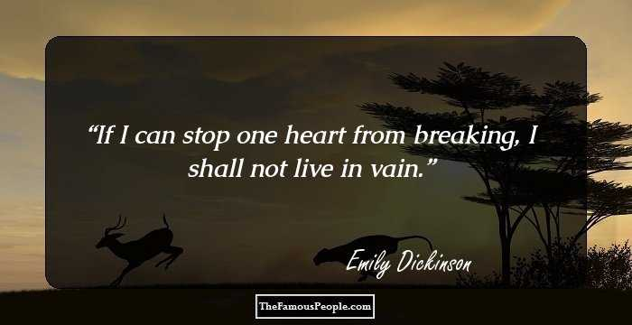 100 Uplifting Quotes By Emily Dickinson The Author Of The Complete