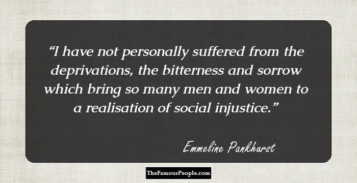 34 Insightful Quotes By Emmeline Pankhurst For Those Who ...