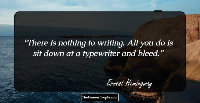a biography and life work by ernest hemingway an american author Video: ernest hemingway: biography, works, and style american author ernest hemingway used the experiences from his rich and colorful life to inform his novels and short stories learn about how .