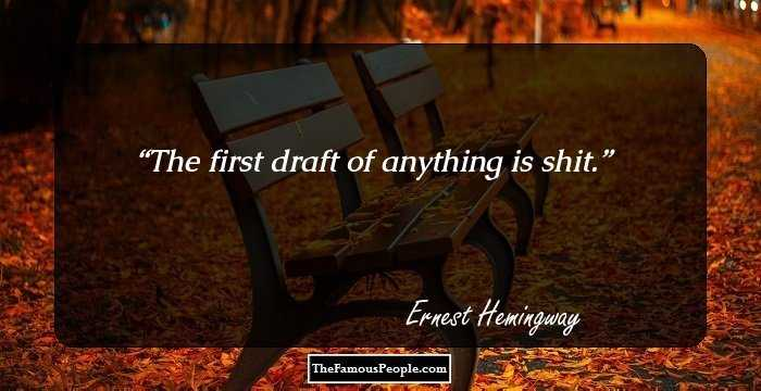 Quote From Old Man And The Sea: 100 Most Famous Quotes By Ernest Hemingway, The Author Of