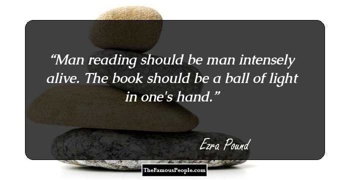 49 Beautiful Ezra Pound Quotes
