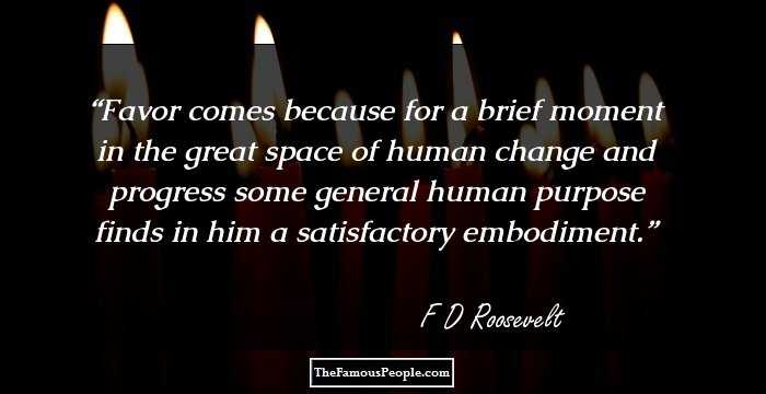 Franklin D Roosevelt Quotes Prepossessing 80 Top Franklin Droosevelt Quotes On Power Happiness Democracy