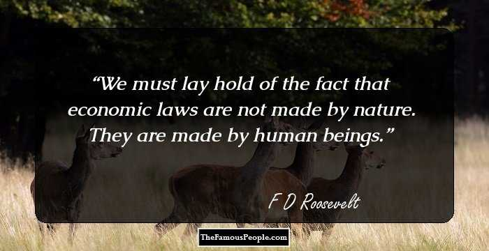 Franklin D Roosevelt Quotes Best 80 Top Franklin Droosevelt Quotes On Power Happiness Democracy
