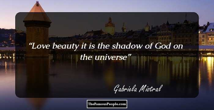 gabriela mistral real name
