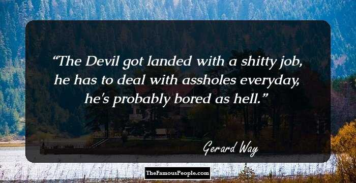 140 Insightful Quotes By Gerard Way That You Must Not Overlook