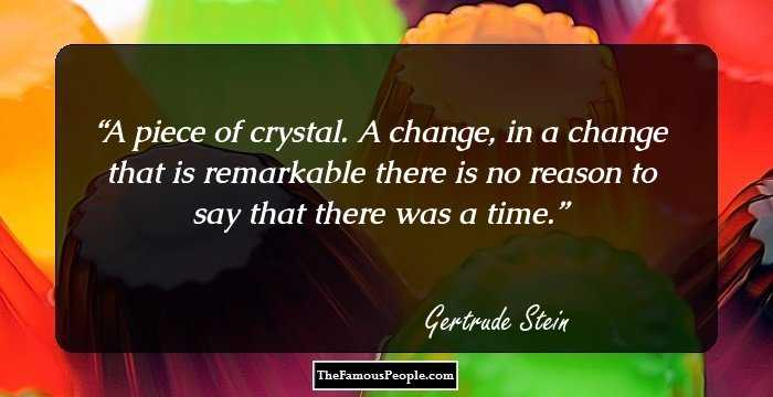 94 Inspirational Quotes By Gertrude Stein The Author Of Fernhurst