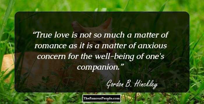 72 Insightful Quotes By Gordon B. Hinckley That Will Help ...