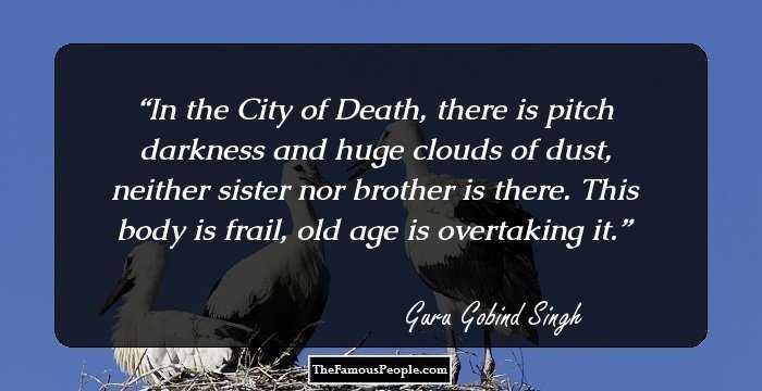 29 Enlightening Quotes By Guru Gobind Singh