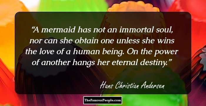 Citaten Love Queen : 76 beautiful quotes by hans christian andersen the author of the