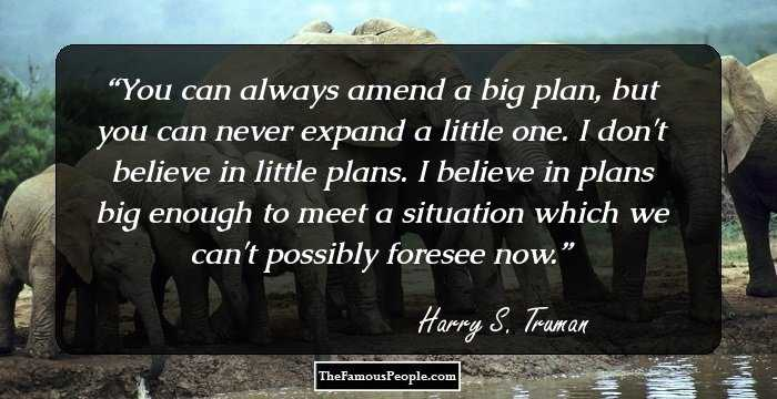 70 Top Harry S Truman Quotes That You Must Know
